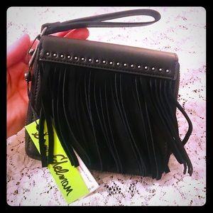 🔥SALE Sam Edelman Alessandra Fringe Zip Wallet